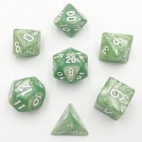 DnD-Verdant Nebula - Hedronix-Dice-Dungeons and Dragons-D20 Collective