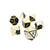 Metallic Morality - 7 Piece Metal Dice Set
