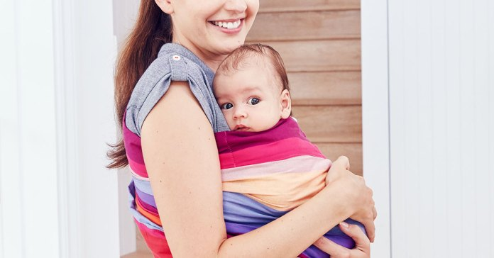 He's Two Days old and Heroin-Addicted'… Bonding with a babe in a sling