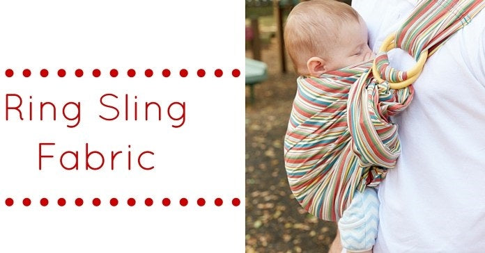 Fabric of your Ring Sling