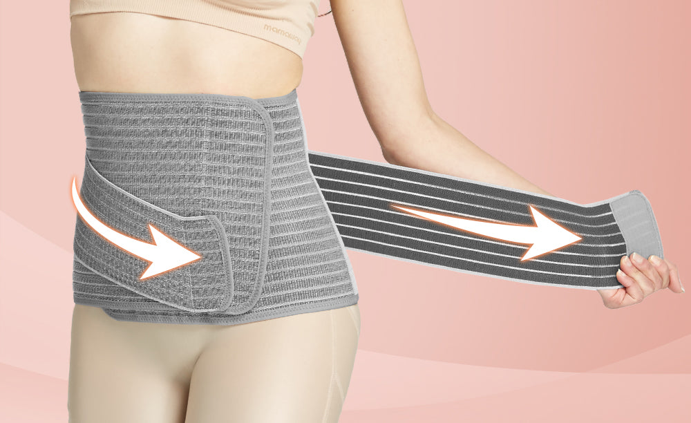 Nano Bamboo Postnatal Recovery & Support Belly Band
