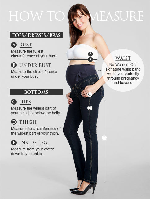 It's hard to know which size to buy when you are pregnant and in between sizes.  please use the following tips as a guide to help you decide which size to buy.
