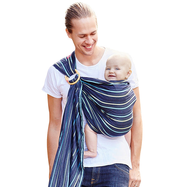 a6f6d6f3782 Mamaway Baby Ring Sling - Ocean Lanna