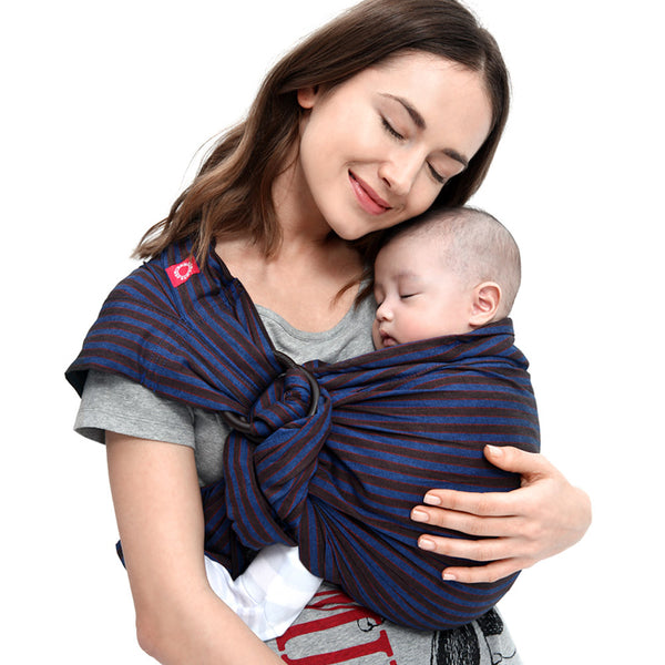 Baby Ring Sling - Blueberry Brownie