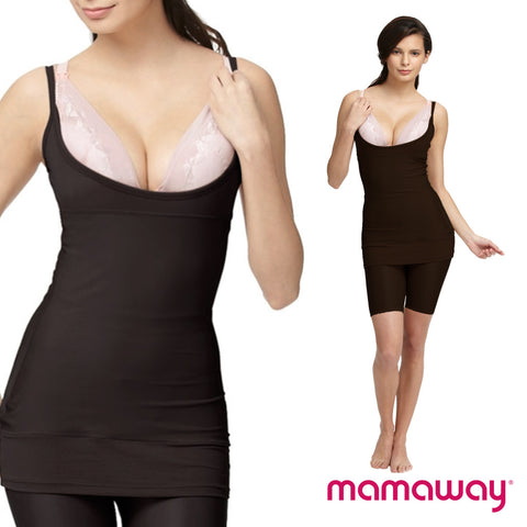 Underbust Post Natal Recovery Shaper - Brown