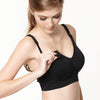 Second Skin Seamless Maternity & Nursing Bra - Black