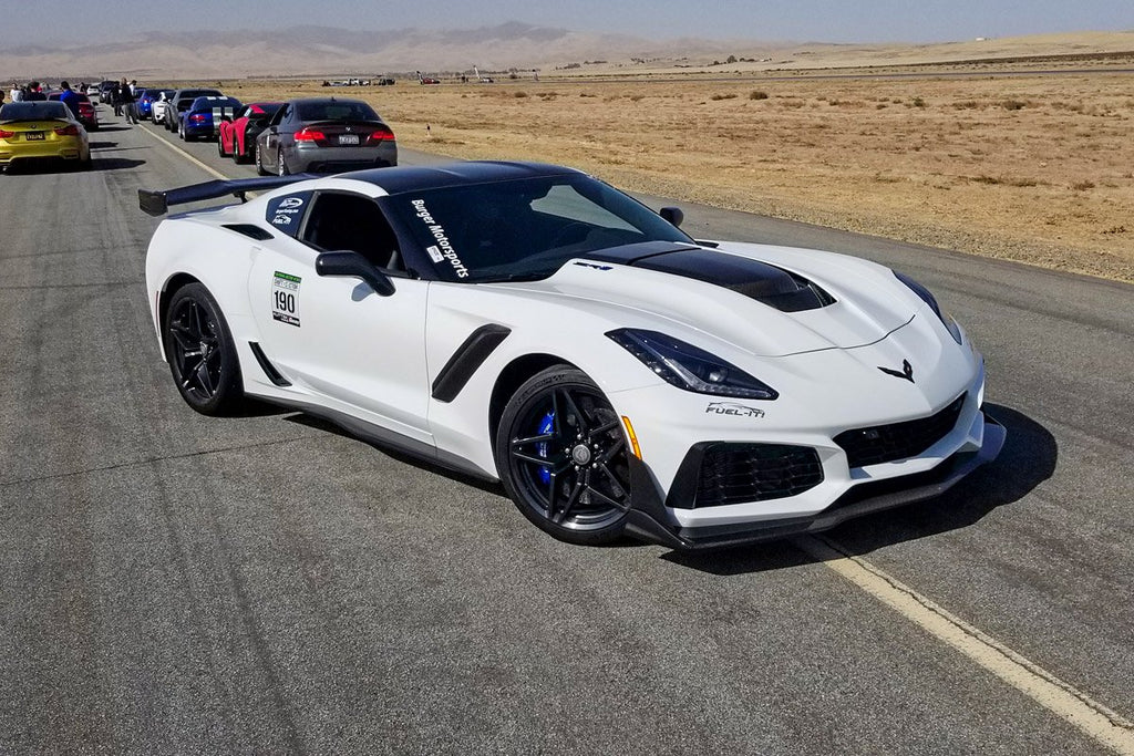 2019 Chevy Corvette Zr1 Zr-1 C7 with Burger Motorsports BMS intake air filter