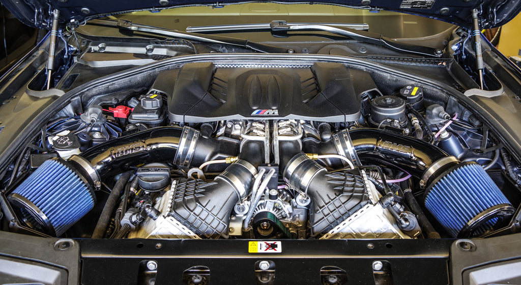 BMS Elite F10 M5 M6 intake and charge pipes Burger Motorsports Burger Tuning