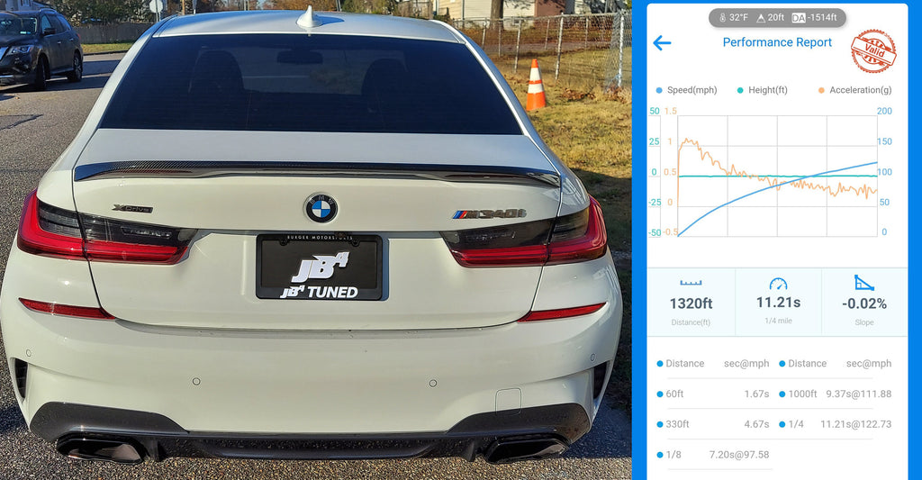 BMW M340i 330i engine JB4 tuner B58 B48 BMW xdrive more horsepower