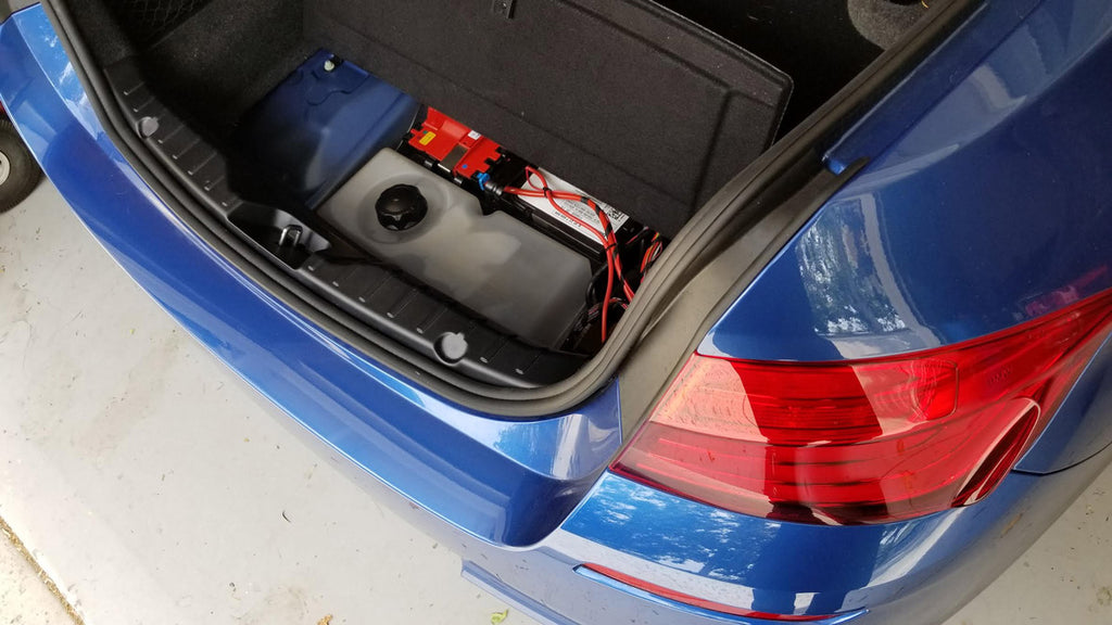 Water Methanol Injection Tanks F10 BMW M5 535i Stealth Tank