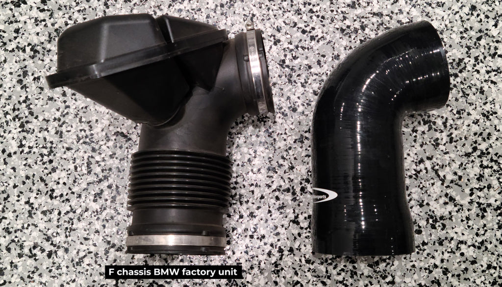 F30 BMW silicone intake inlet tube