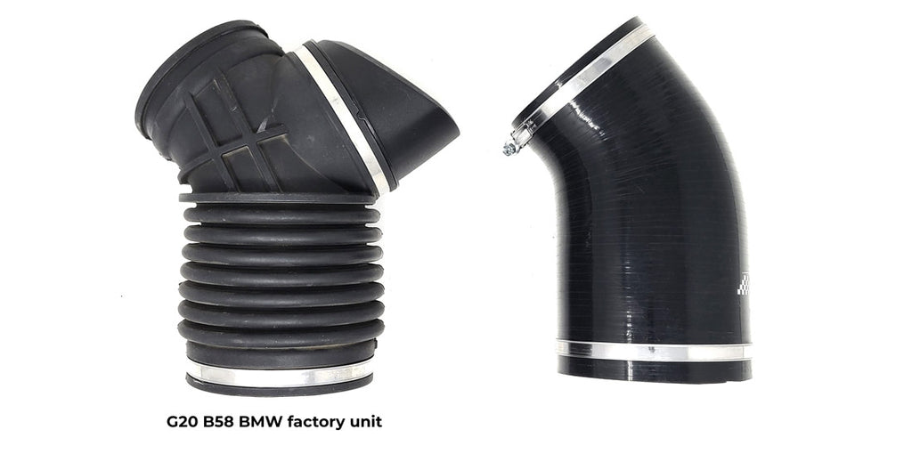 G20 BMW M340i M340 xdrive silicone intake inlet hose by Burger Motorsports BMS JB4