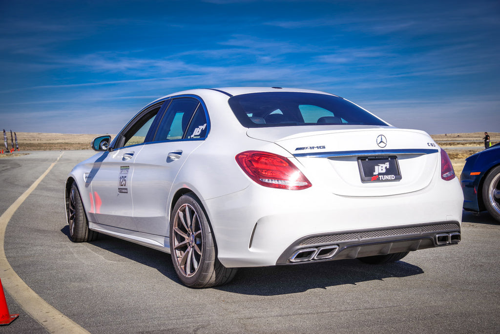 Mercedes AMG C63 & C63S Burger Motorsports BMS Burger Tuning Air Intake with dual filters