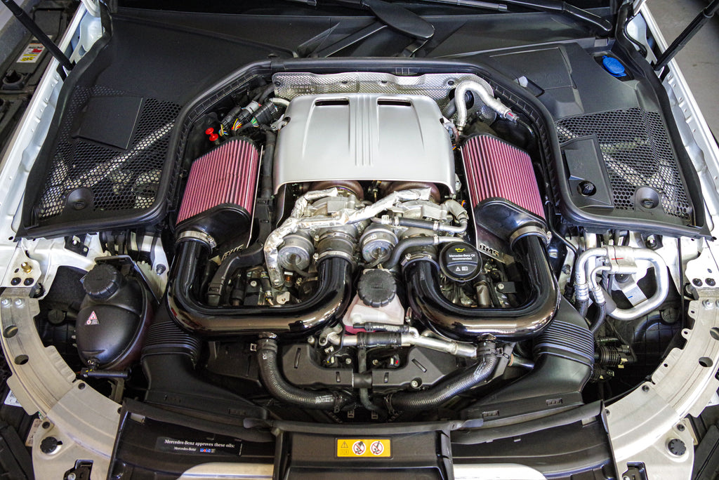 Mercedes Benz C63 C 63 AMG Burger Motorsports BMS Air Intake Compatible with JB4