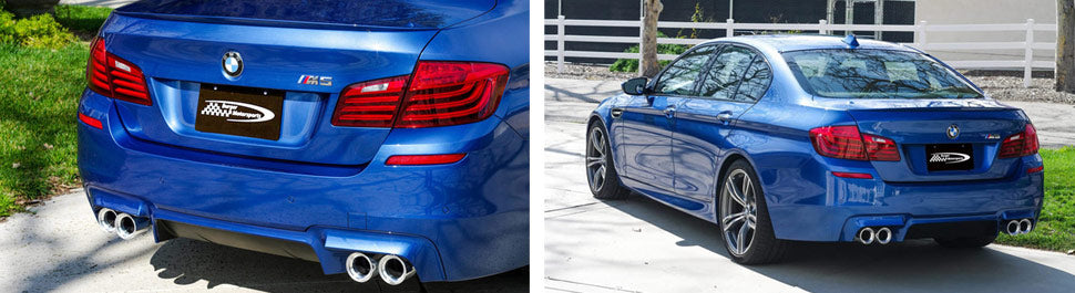 BMW M3 M4 F80 F82 F83 exhaust tips