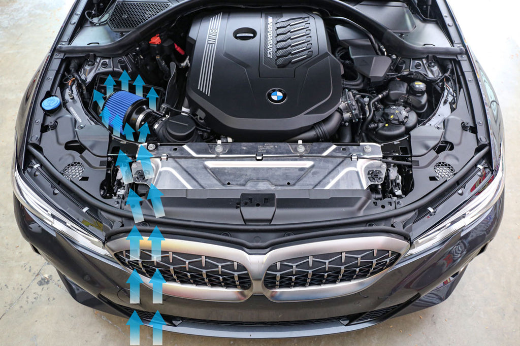 Burger Motorsports B58 BMW G20 M340i M340ix intake CAI cold air performance intake