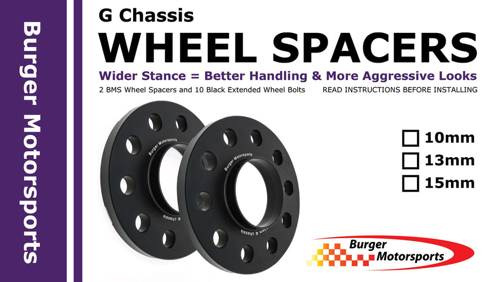 Burger Motorsports G Chassis BMW Wheel Spacers