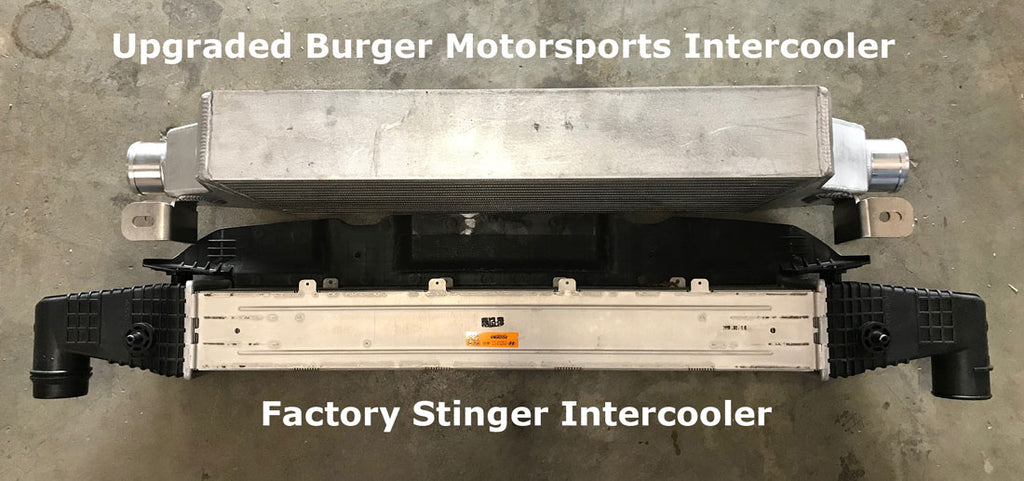 Kia Stinger Intercooler