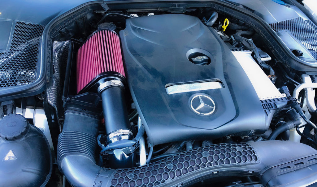 Burger Motorsports Type2 Billet Intake for Mercedes-Benz C180, C200, C300, E200, E300, GLC300