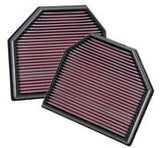 K&N 33-2488 - Replacement Performance Air Filters (2 Filters) - Burger Motorsports