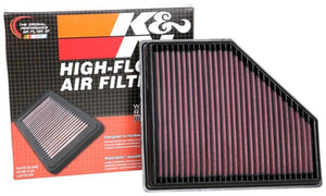 K&N Air Performance Drop-In Filter for 2020+ MKV Toyota Supra (33-3136)