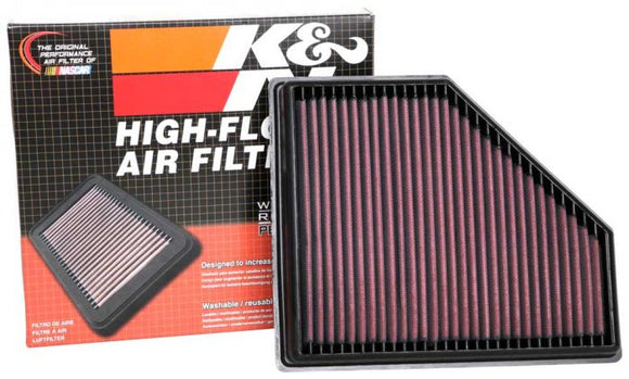 K&N Air Performance Drop-In Filter for 2020+ MKV Toyota Supra (33-3136) - Burger Motorsports