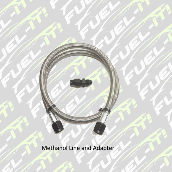 Fuel-it Meth Line and adapter - Burger Motorsports