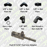 Fuel-it Charge Pipe Injector (CPI) Installation Accessories - Burger Motorsports