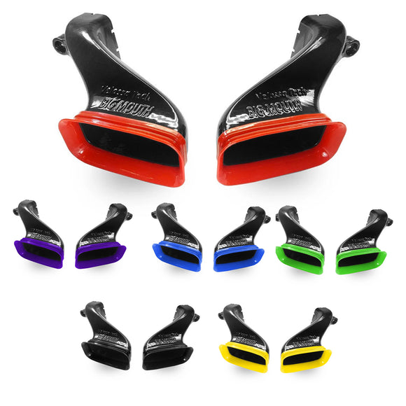 Velossa Tech Dual BIG MOUTH Ram Air Intake Snorkels