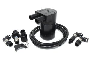 N54 Vacuum Side Oil Catch Can Kit - Burger Motorsports