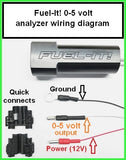 Flex-Fuel Sensor with Fuel-it! Bluetooth Analyzer - Burger Motorsports