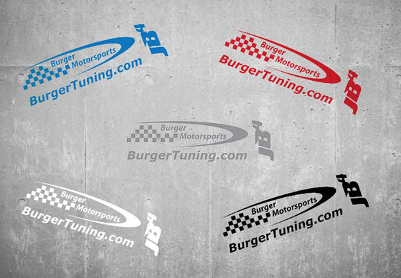 Burger Motorsports Logo Sticker Sheet (TWO PACK)