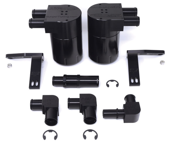 BMS Dual Oil Catch Cans System for Ford F150/Raptor - Burger Motorsports