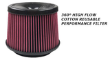2015+ Ford F150/Raptor Cold Air Intake w/ Oiled Cleanable Cotton Filter