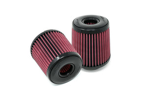 Replacement BMS Kia Stinger / Genesis Inverted Cone Filters and Clamps (Pair)