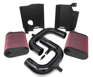 BMS C63 AMG Dual Intakes, Filters and Mounting Hardware - Burger Motorsports