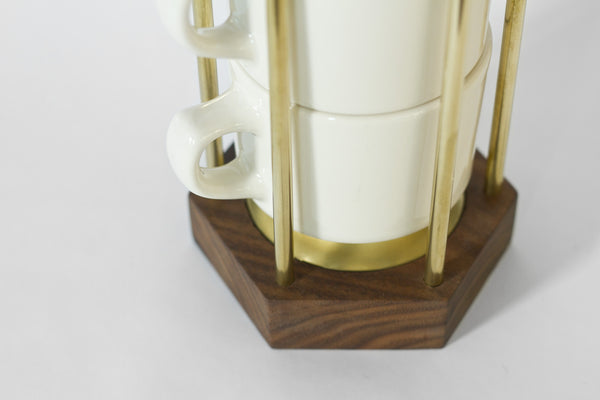 lonewa modern coffee cup stacker