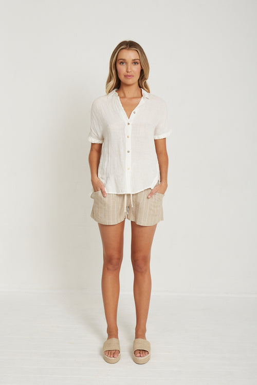 Little Lies - Essential Linen Shirt