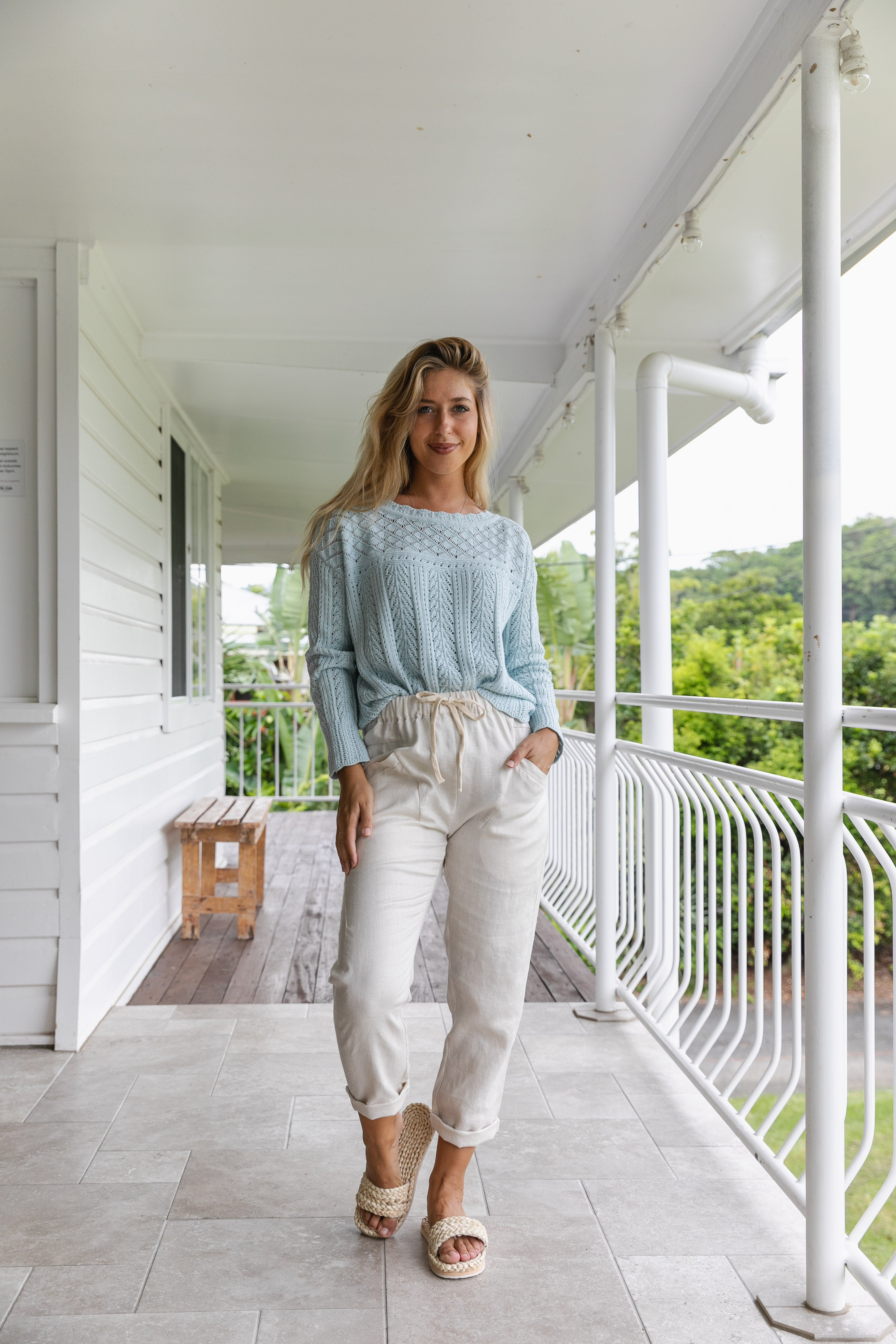 Luxe Linen Pants - Little Lies