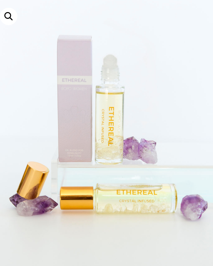 ETHEREAL CRYSTAL PERFUME ROLLER