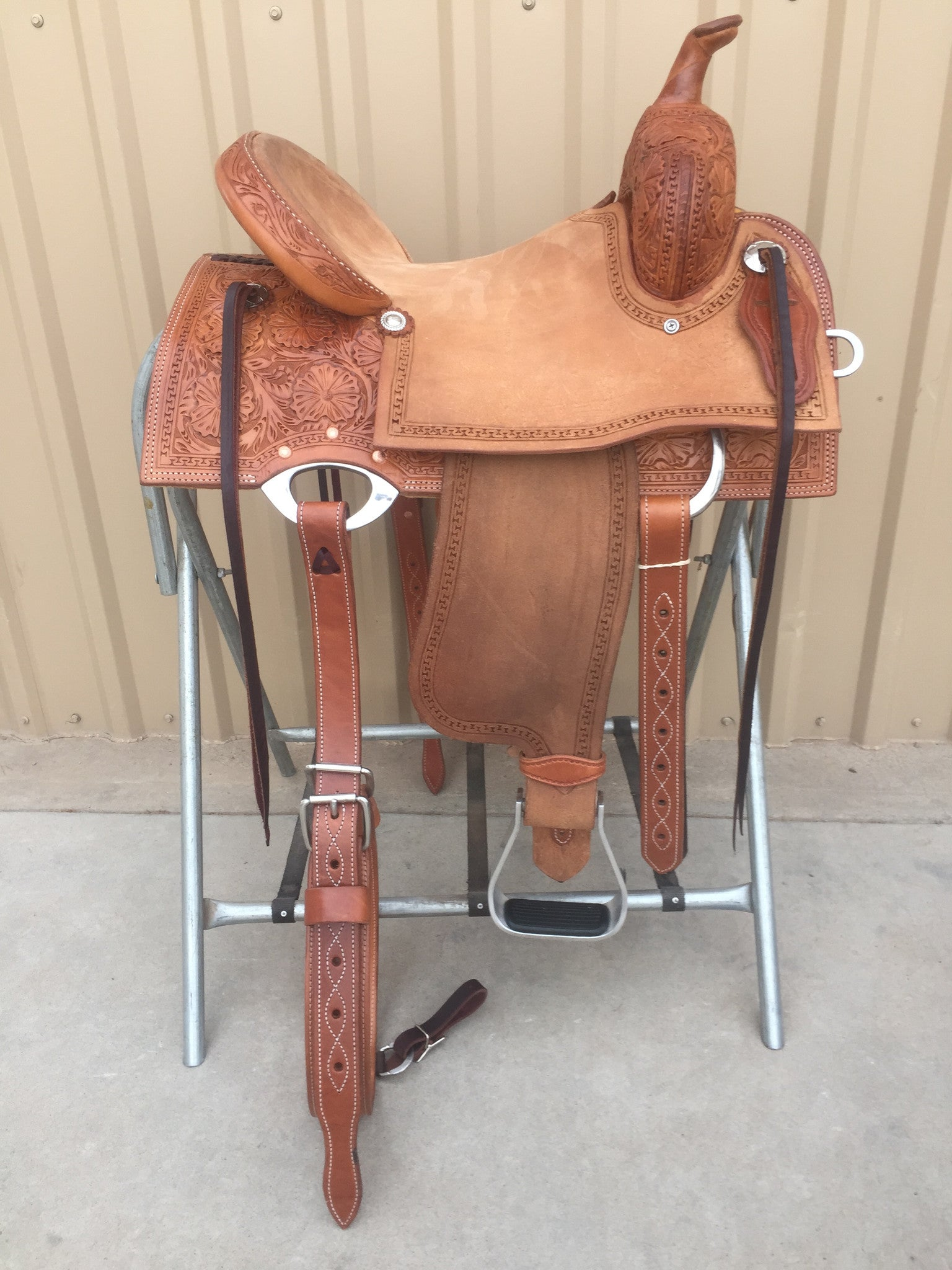 Corriente Barrel Racing Saddle SB550 - The Sale Barn