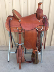 Corriente Ranch Association Saddle SB313 - The Sale Barn - 2