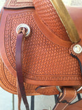 Corriente Ranch Association Saddle SB313 - The Sale Barn - 5