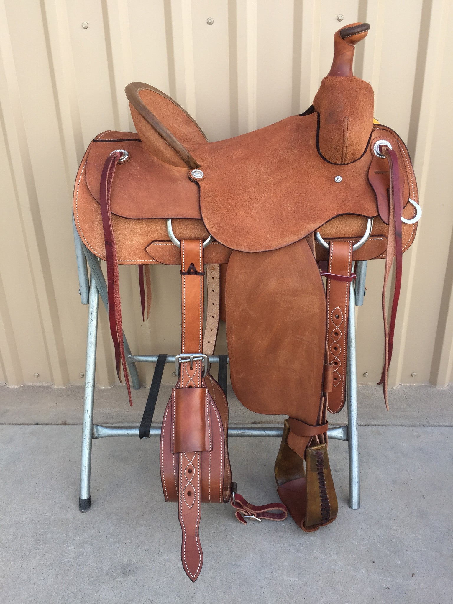 Corriente Ranch Association Saddle SB320 - The Sale Barn - 1