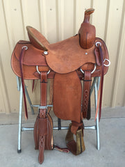 Corriente Ranch Association Saddle SB314 - The Sale Barn - 1