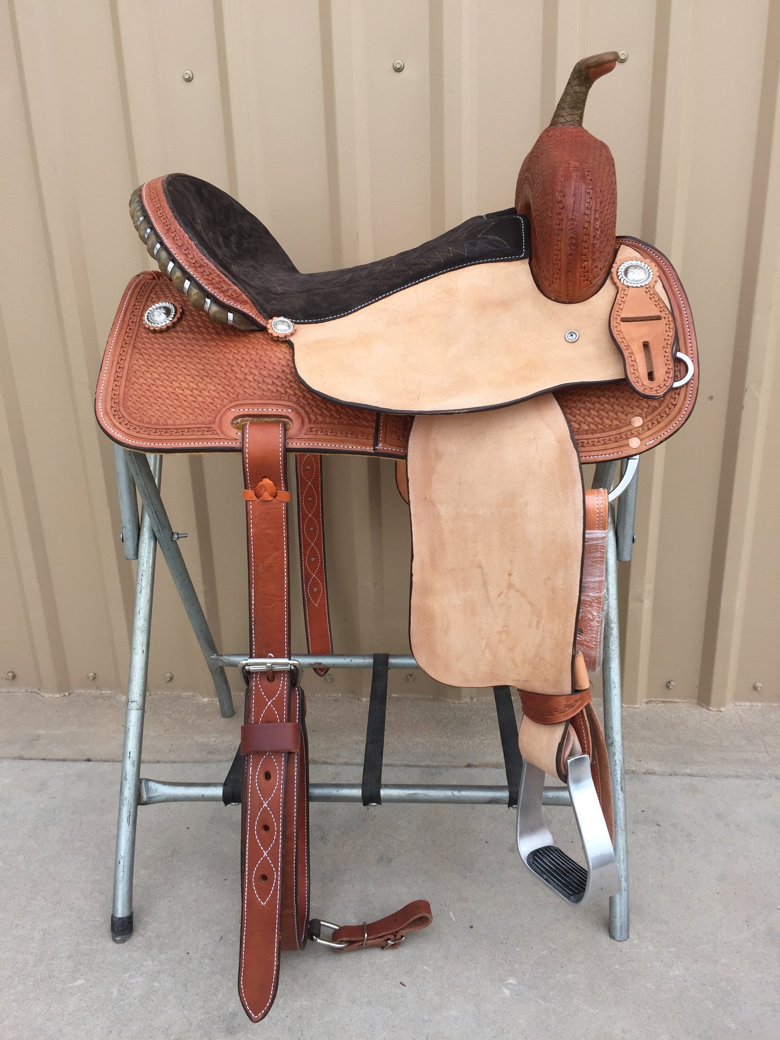 Corriente Barrel Racing Saddle SB509 - The Sale Barn - 1