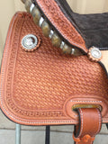 Corriente Barrel Racing Saddle SB509 - The Sale Barn - 5