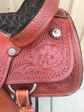 Corriente Team Roping Saddle SB116 - The Sale Barn - 5
