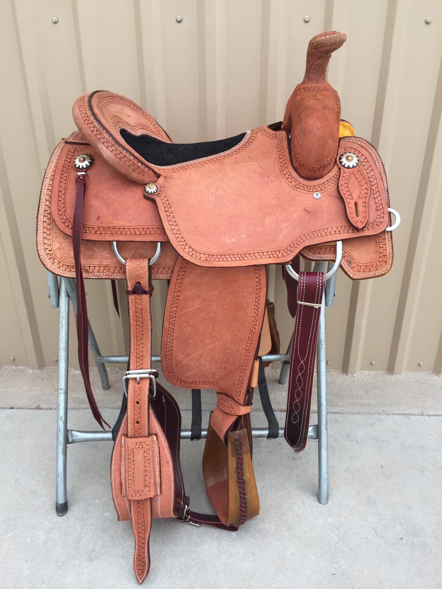 Corriente Team Roping Saddle SB140 - The Sale Barn - 1