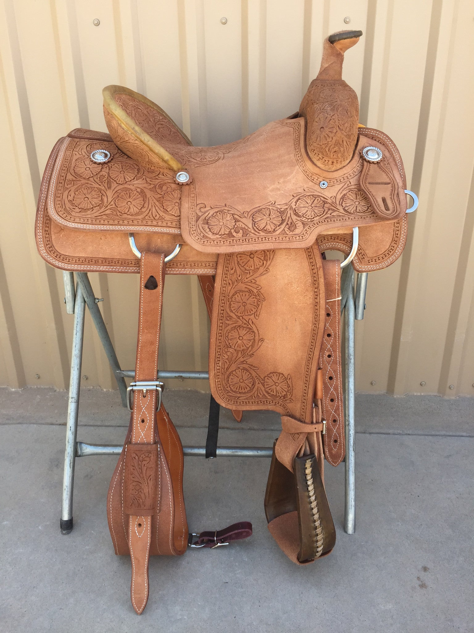 Corriente Team Roping Saddle SB150 - The Sale Barn - 1